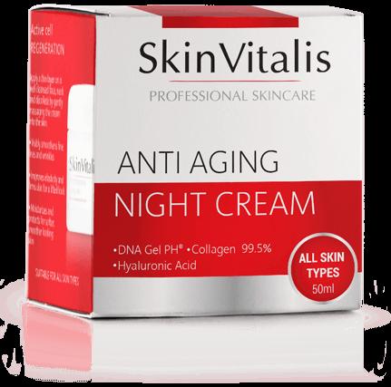 SkinVitalis crema notturna anti age
