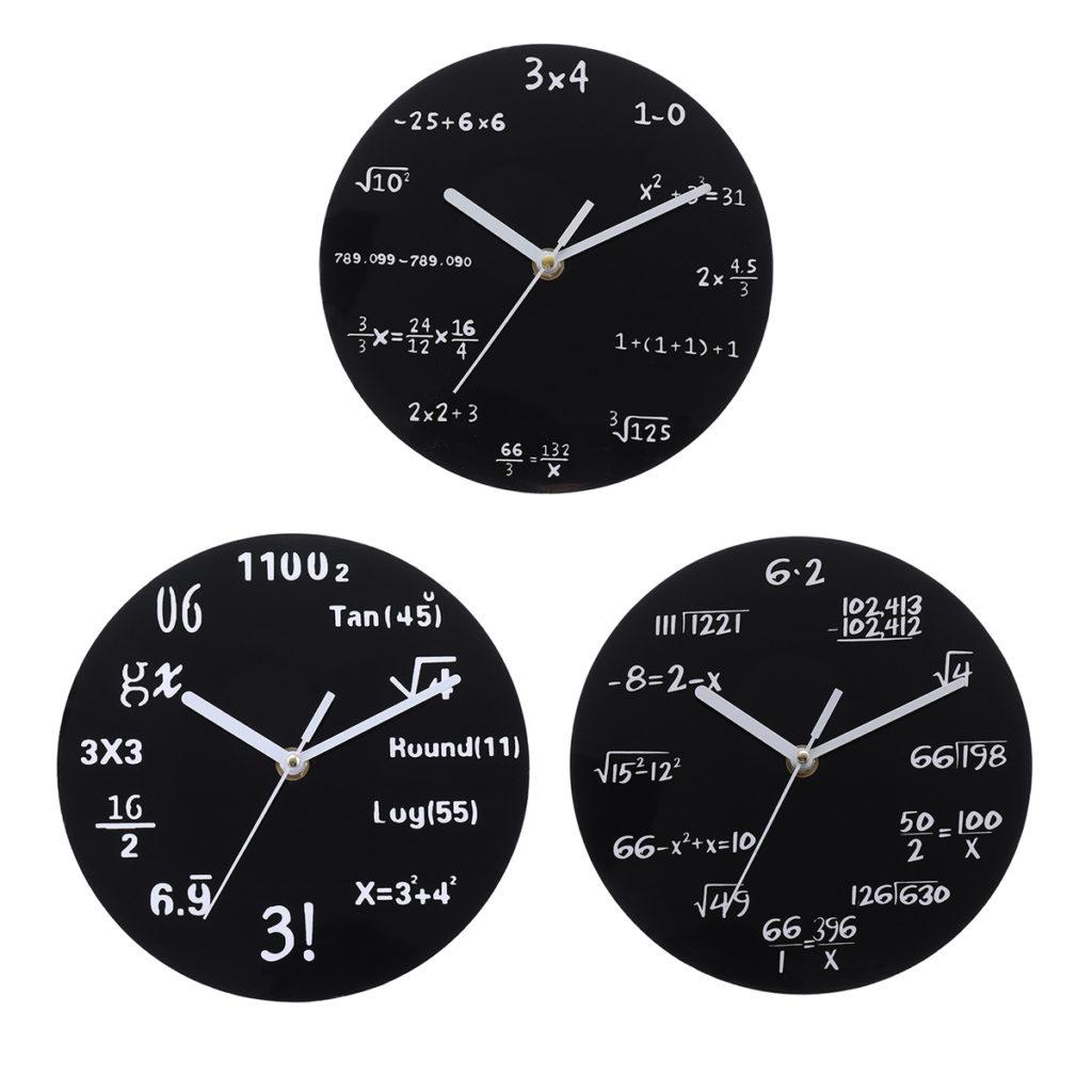 Orologio Nerd per Matematici