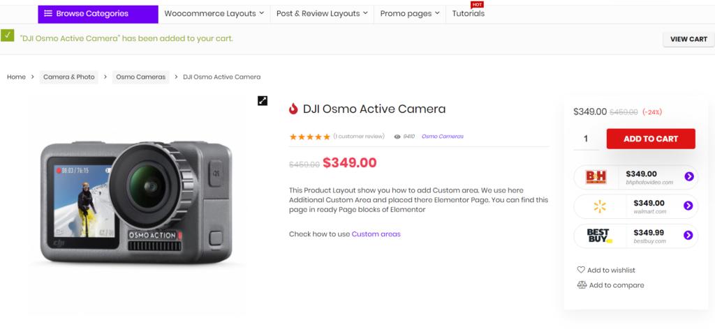 ecommerce con prodotti amazon tramite link affiliazione