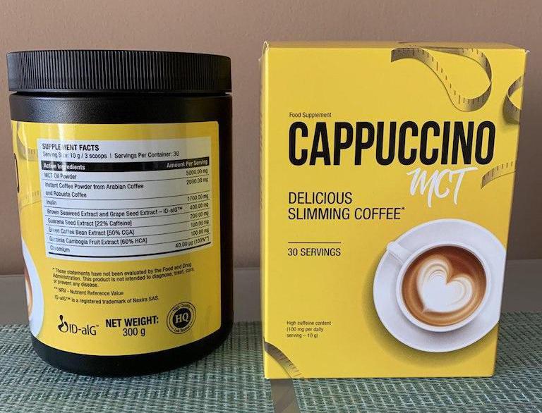 Cappuccino dimagrante